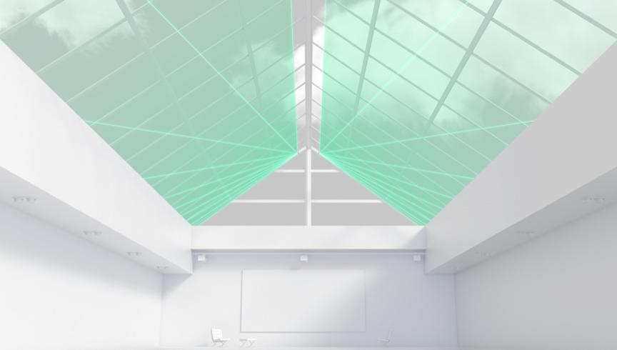 Glasdachschutz
