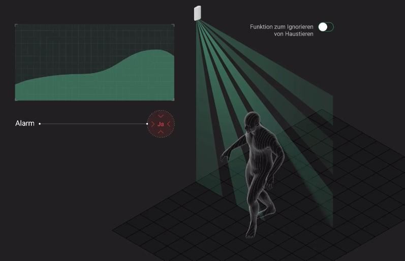 Ein einzigartiges Bewegungserkennungssystem