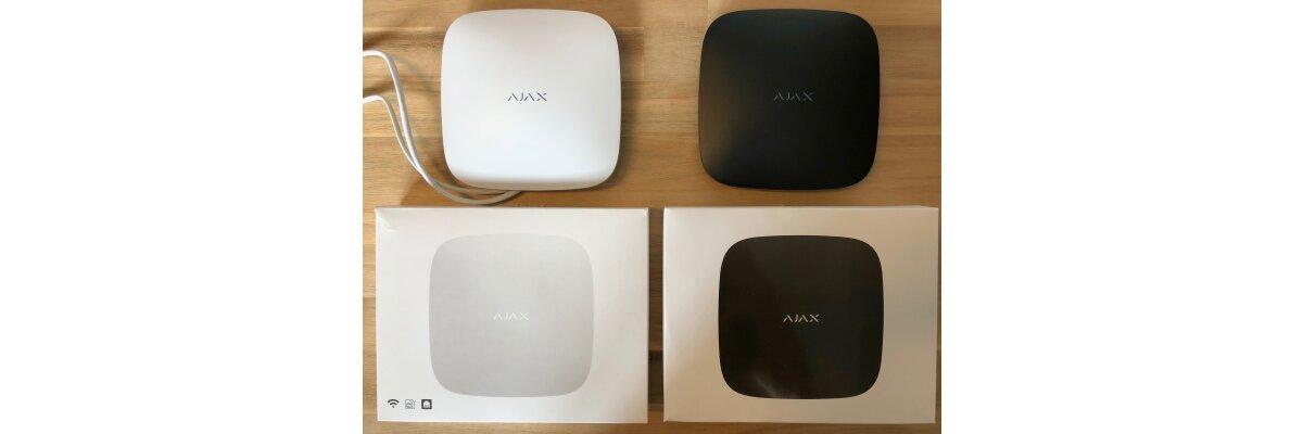 Vergleich zwischen Hub und Hub Plus - Hub und Hub Plus und Ajax