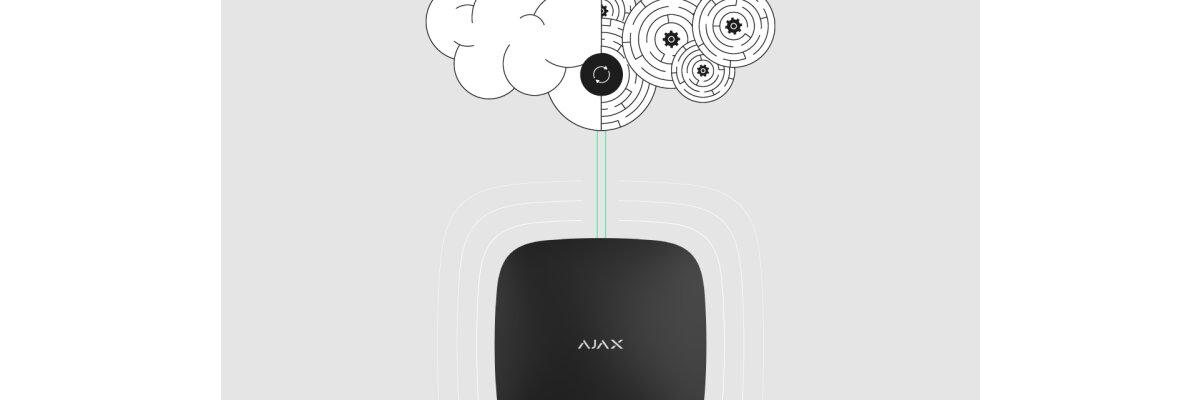 Ajax Hub Update-Prozess - Ajax Hub Update-Prozess