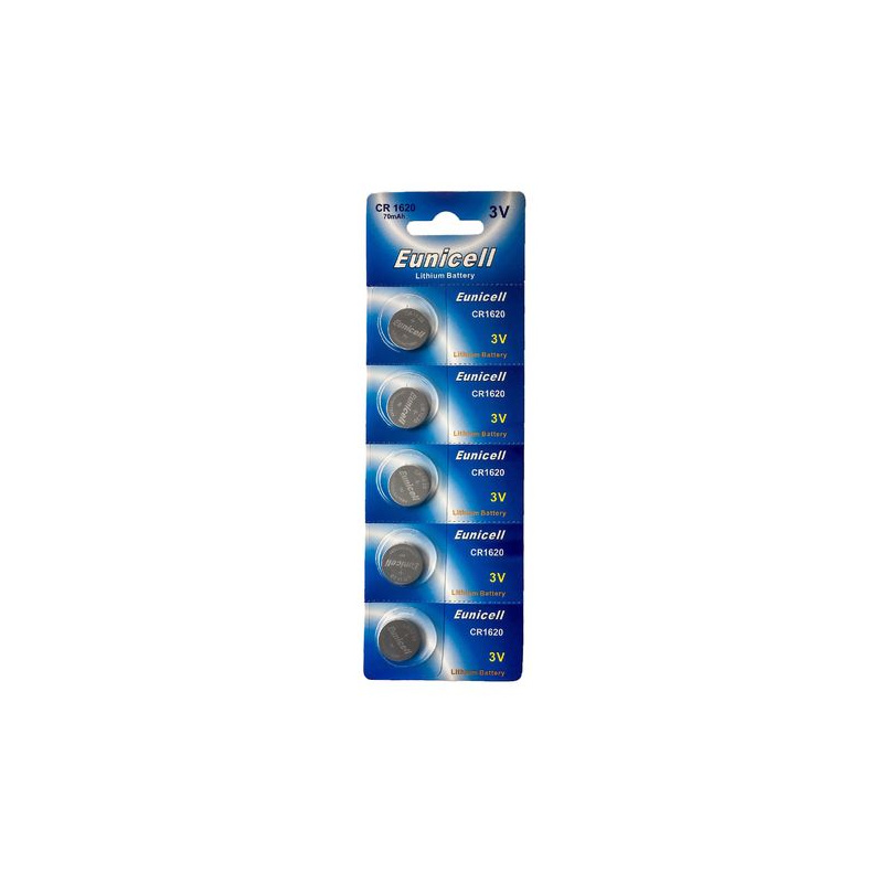 Eunicell 20 x CR2354 ohne Vertiefungsrille 3V Lithium Knopfzelle (4 Blistercard a 5 Batterien)